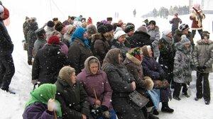 Масленица, 2011г. Зима не хочет уходить и налетела ветром и метелью!