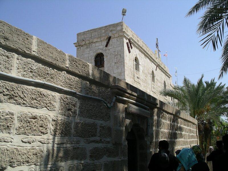 Монастырь преп. Герасима Иорданского в Иорданской пустыне.