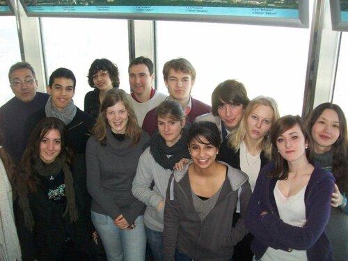 Группа представителей лицея Бельвю
