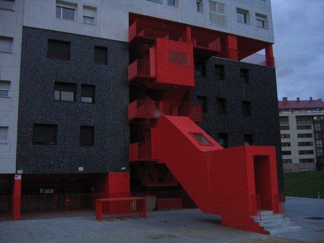 Жилой дом Эдифисио Мирадор (Edificio Mirador). Мадрид