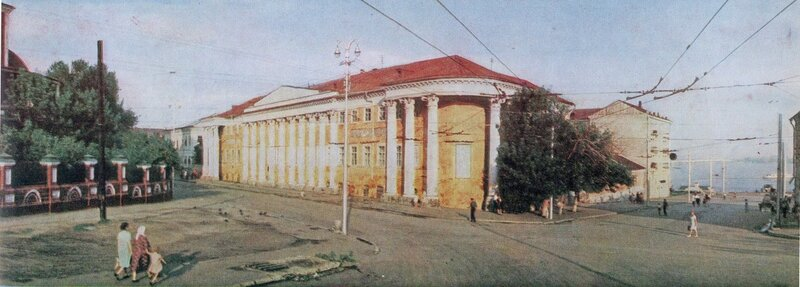 Музейная площадь, 1967 год