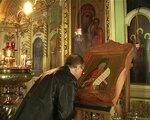 Николай Бурляев в Свято-Успенском Кафедральном Соборе