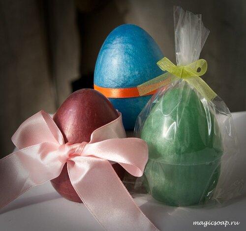 мыло яйцо подарок к Пасхе, идеи для мыла