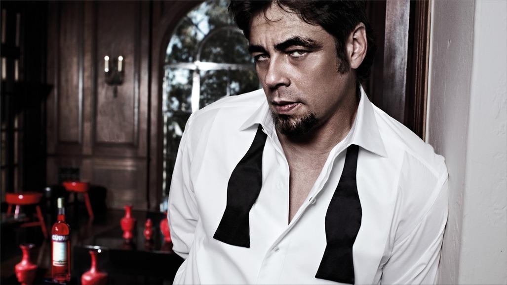 Бенисио дель Торо / Campari The Red Affair 2011 calendar - Benicio del Toro by Michel Compte - обложка