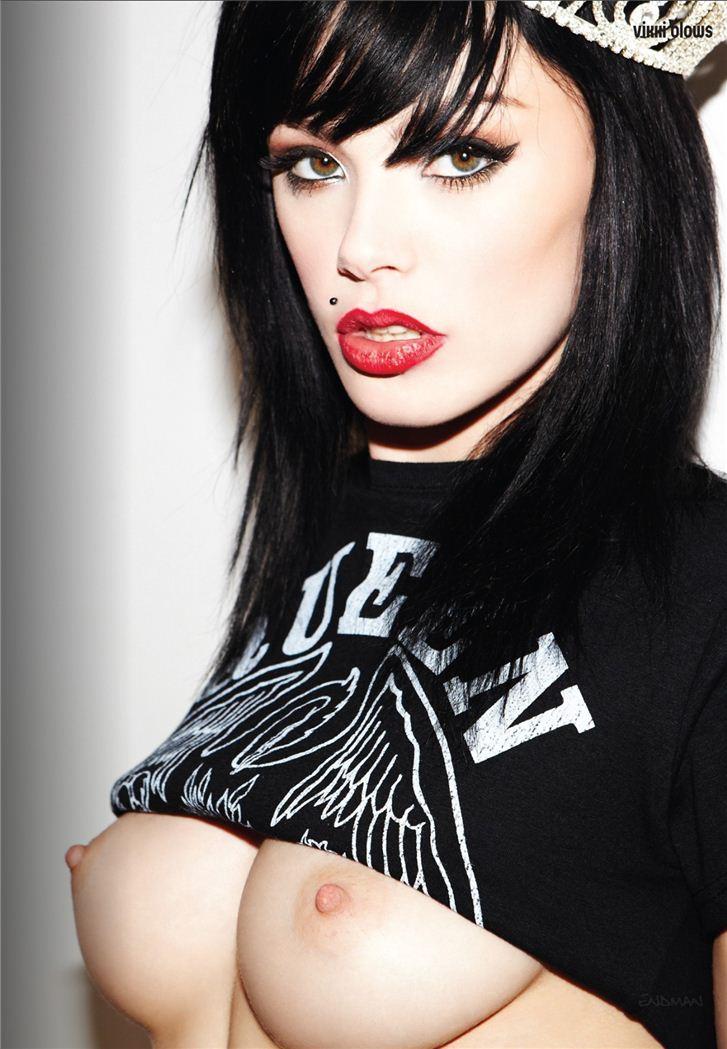 эротическая модель Викки Блоус / Vikki Blows, фотограф Bronk Landers