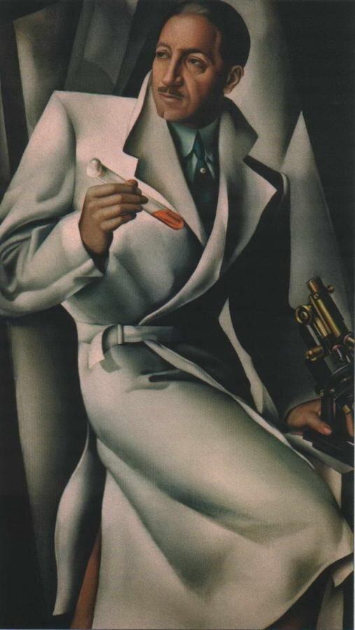 Лемпицка Тамара. Портрет доктора Букара. 1928http://veniamin1.livejournal.com/profile