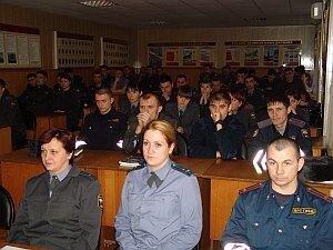 В Центре профессиональной подготовки УВД по Приморскому краю прошла «Неделя мужества»