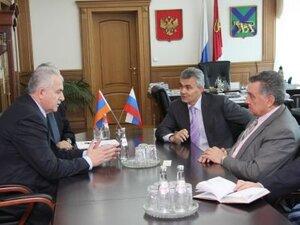Республика Армения выступает за укрепление партнерских отношений с Приморским краем