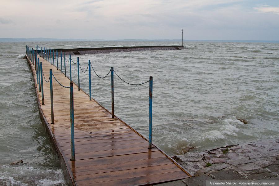 Озеро Балатон. Венгрия.