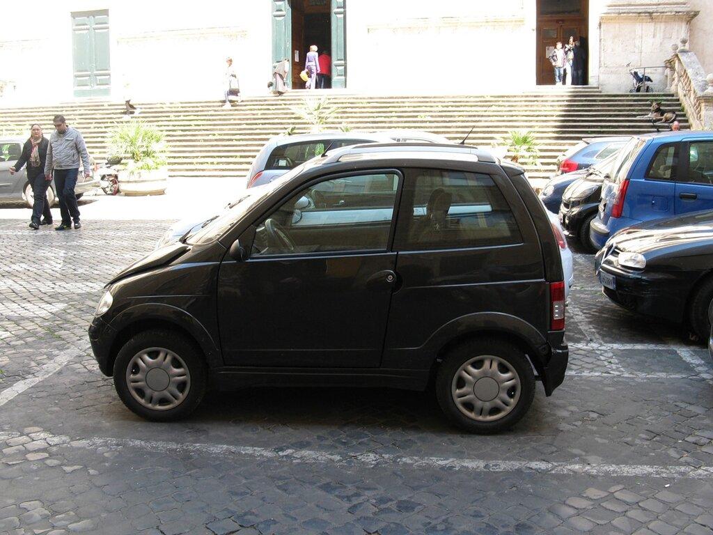 Рим. Улица Копелле (Via delle Coppelle)
