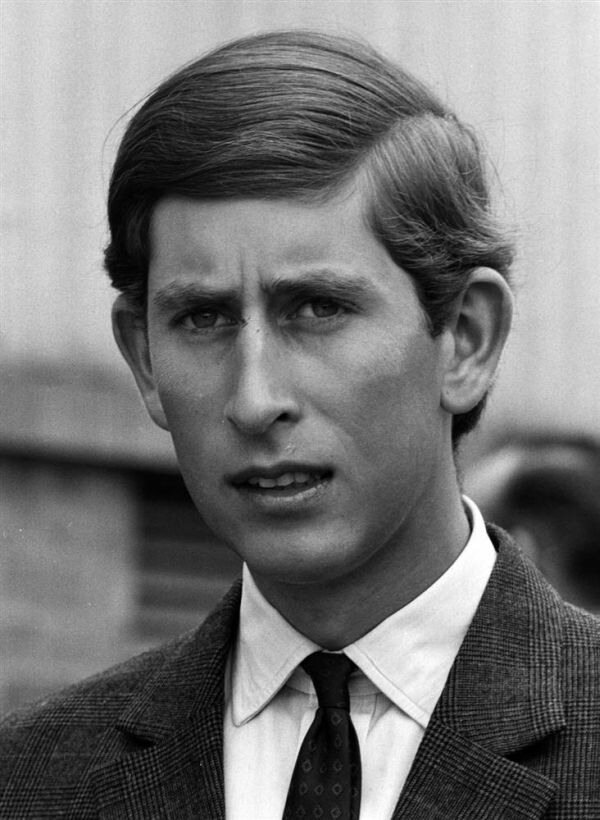 Prince Charles - Past and present photographs
