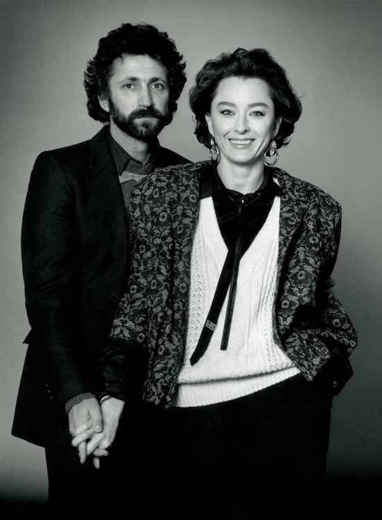Настя Вертинская и Борис Эйфман.1977 год