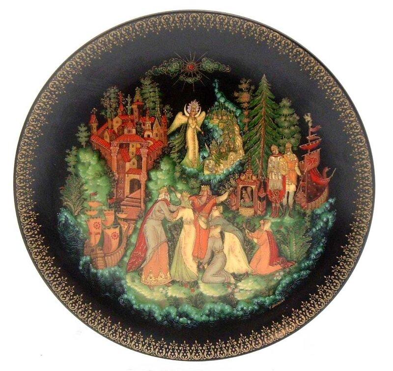 Русские легенды на фарфоре