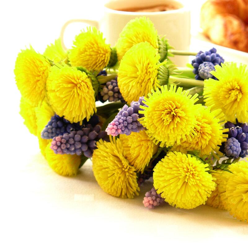 Керамическая флористика - цветы из глины FLEUR.