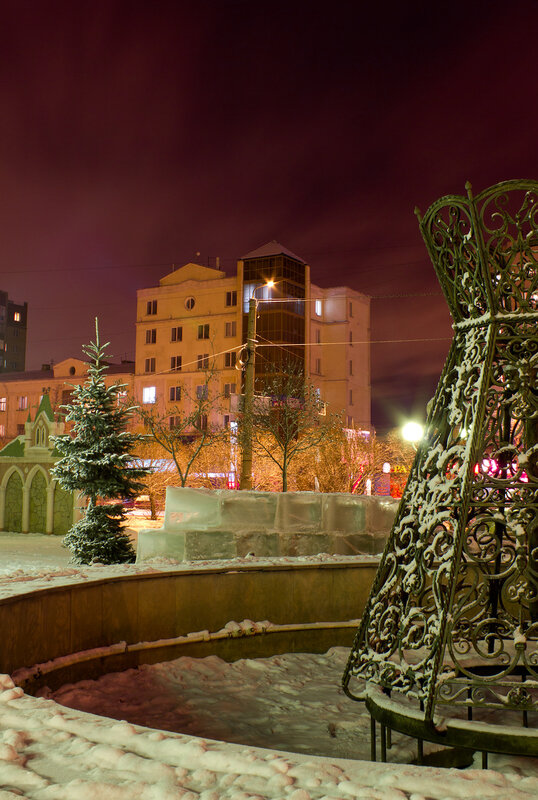Ночной Челябинск