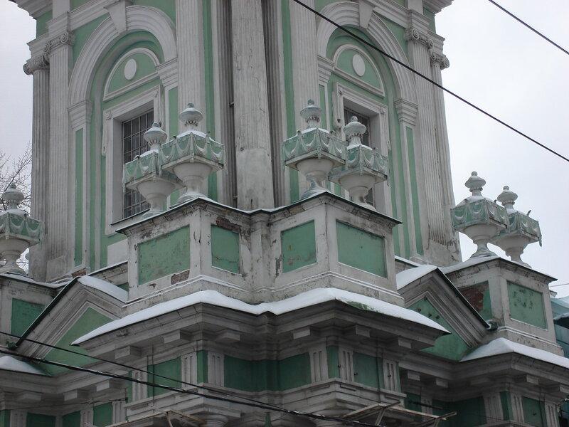 КОЛОКОЛЬНЯ, церковь Иоанна Предтечи под Бором, 1781г.