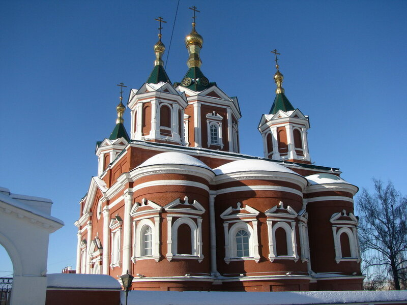 Крестовоздвиженский собор Брусненского женского монастыря