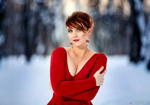 Даша в парке. Фотограф Илья Гарбузов.