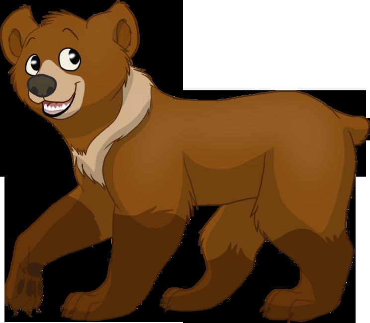 Картинка медведи для детей, днем