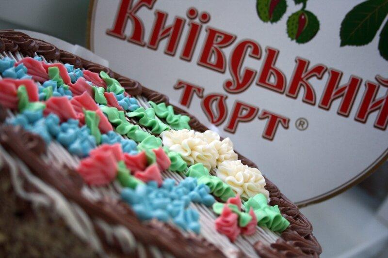 Торт с фото киев