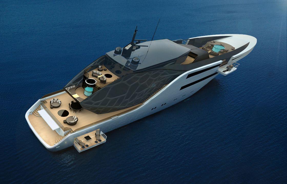 Анаконда — финалист конкурса яхт