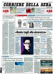 Журнал Il Corriere della Sera (23.03.2014)