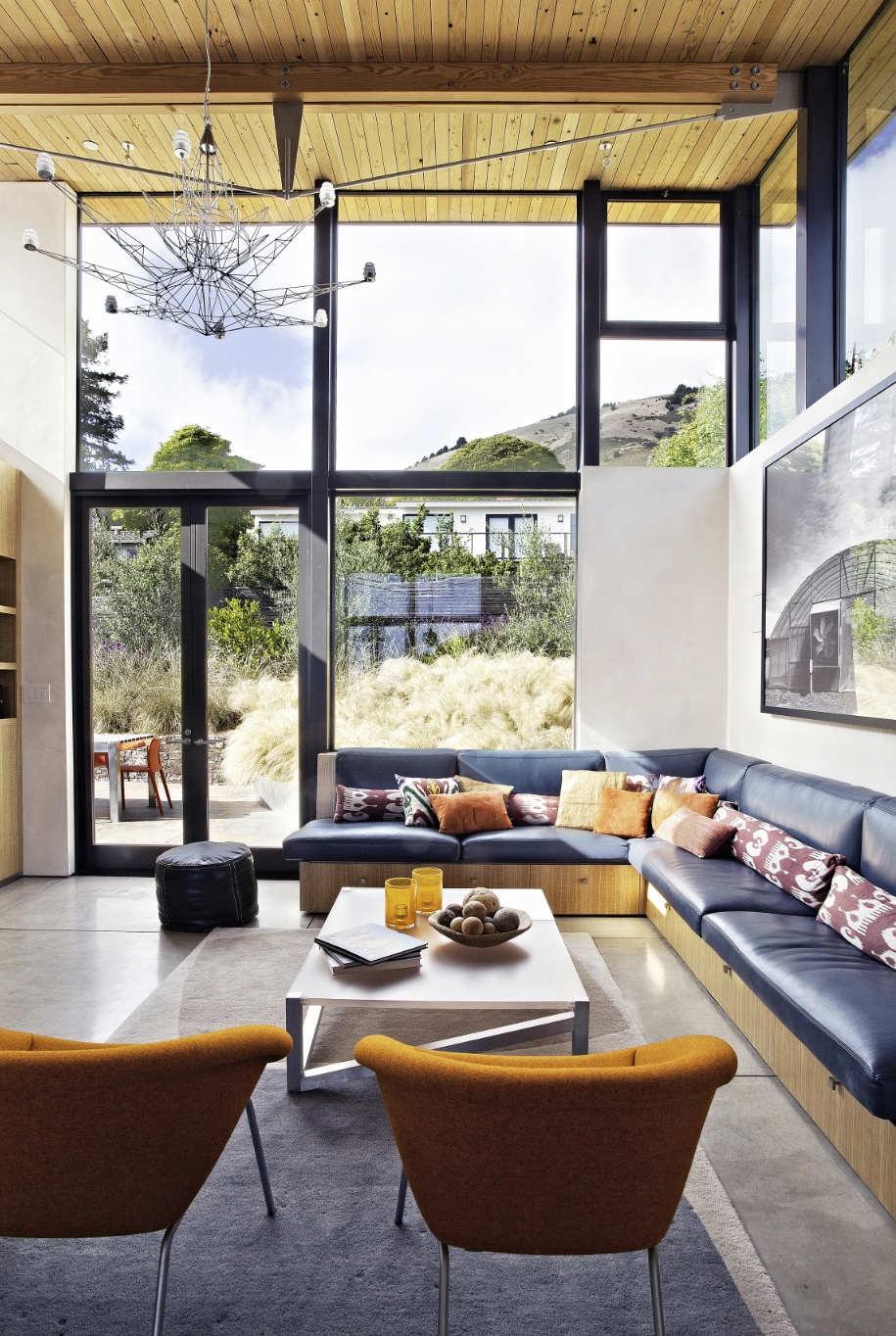 Небольшой загородный дом в Калифорнии от WA Design