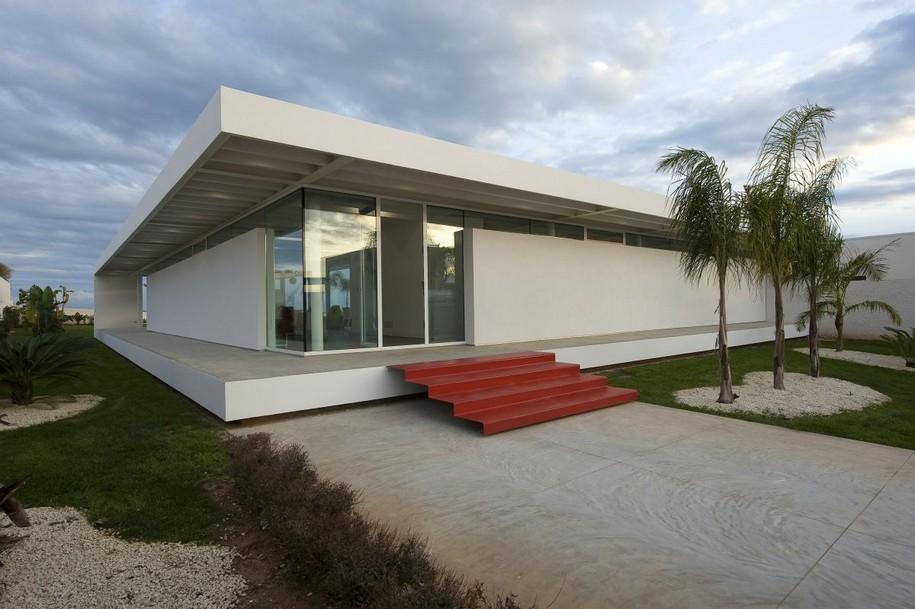 Villa GM на Сицилии от Architrend Architecture