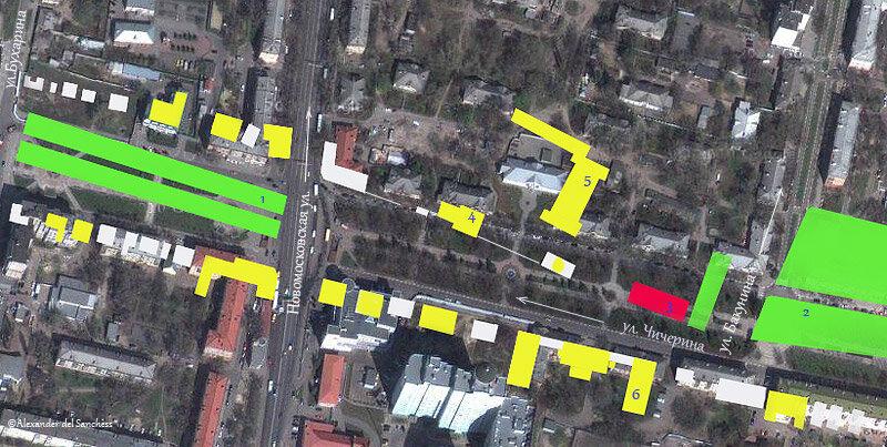 Улица Чичерина, 1930-е, Белгород. http://sanchess-city31.livejournal.com