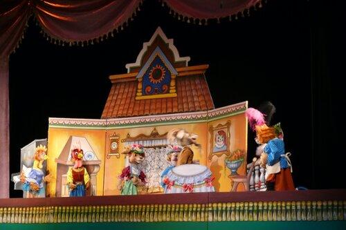 Кошкин дом кукольный театр своими руками 79