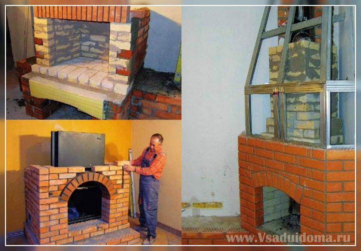 Печка -камин для дачи