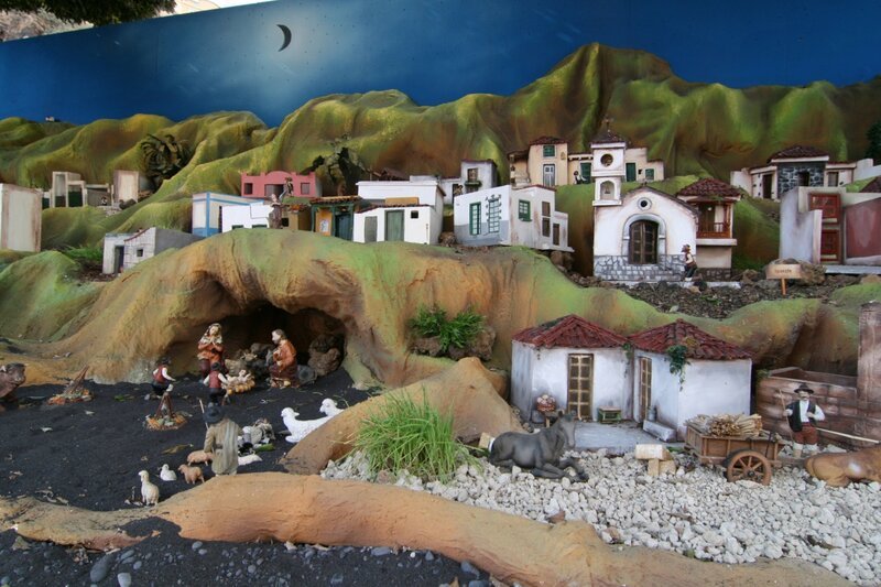 Рождественский макет в Канделярии