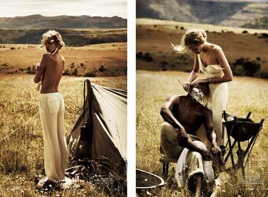 Marloes Horst / Марлос Хорст, фотограф Will Davidson в журнале Harpers Bazaar Australia, март 2012