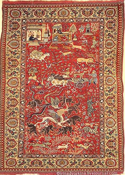 Ковер. Северная Индия, кон. XVIII в.