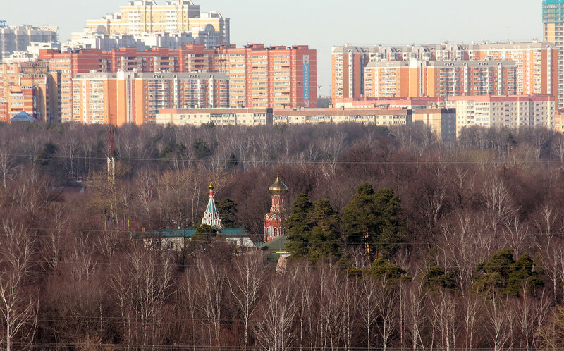 Церковь на Волоколамском шоссе