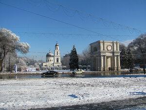 Зимний Кишинёв