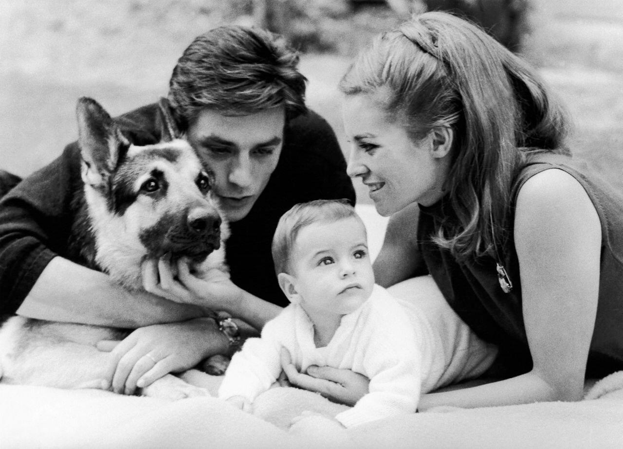 1965. С Натали и Энтони