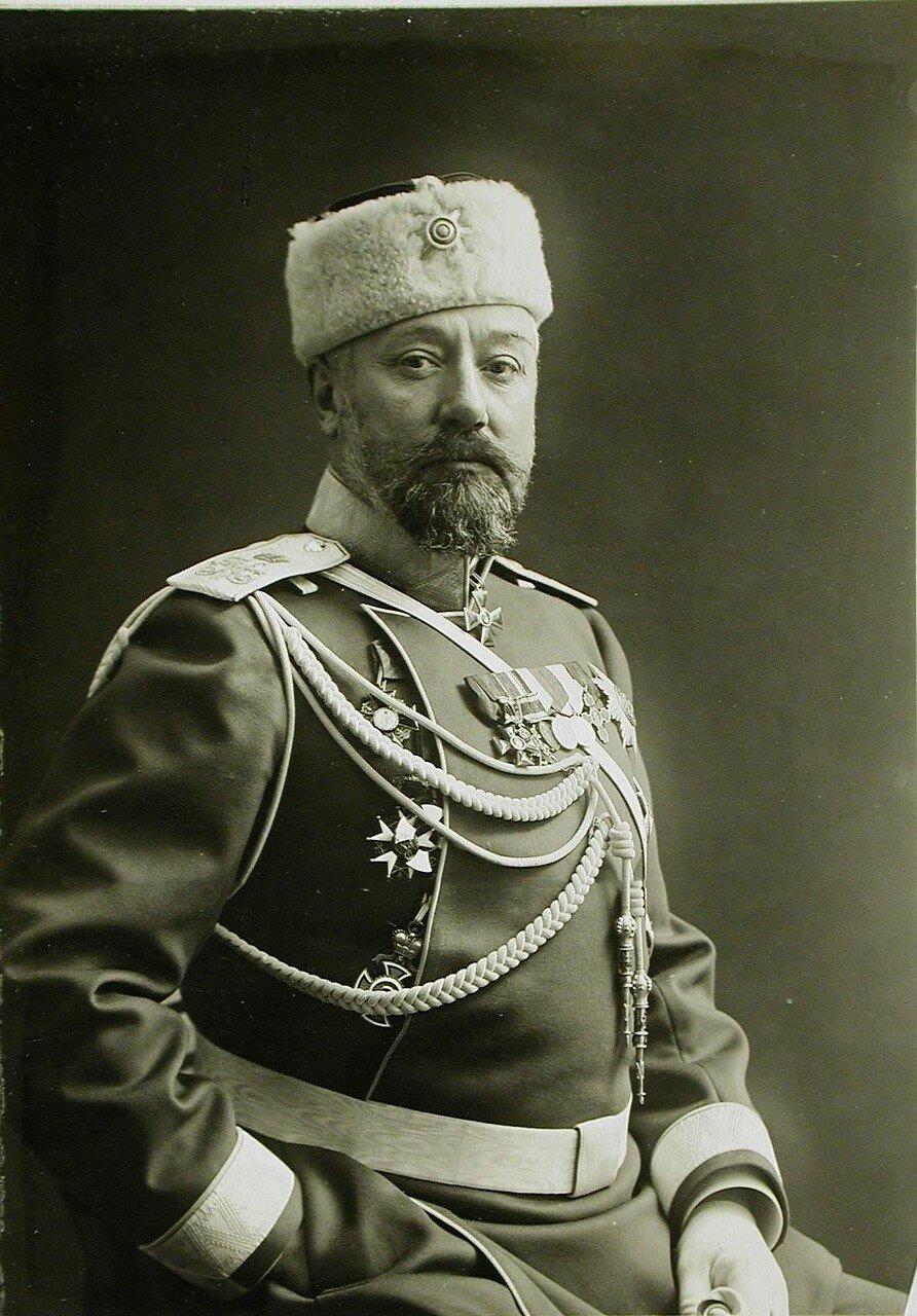 26. Портрет генерал-адъютанта, генерал-майора свиты, генерала от кавалерии В.М.Безобразова - командующего гвардейским корпусом (до июля 1915 г.)