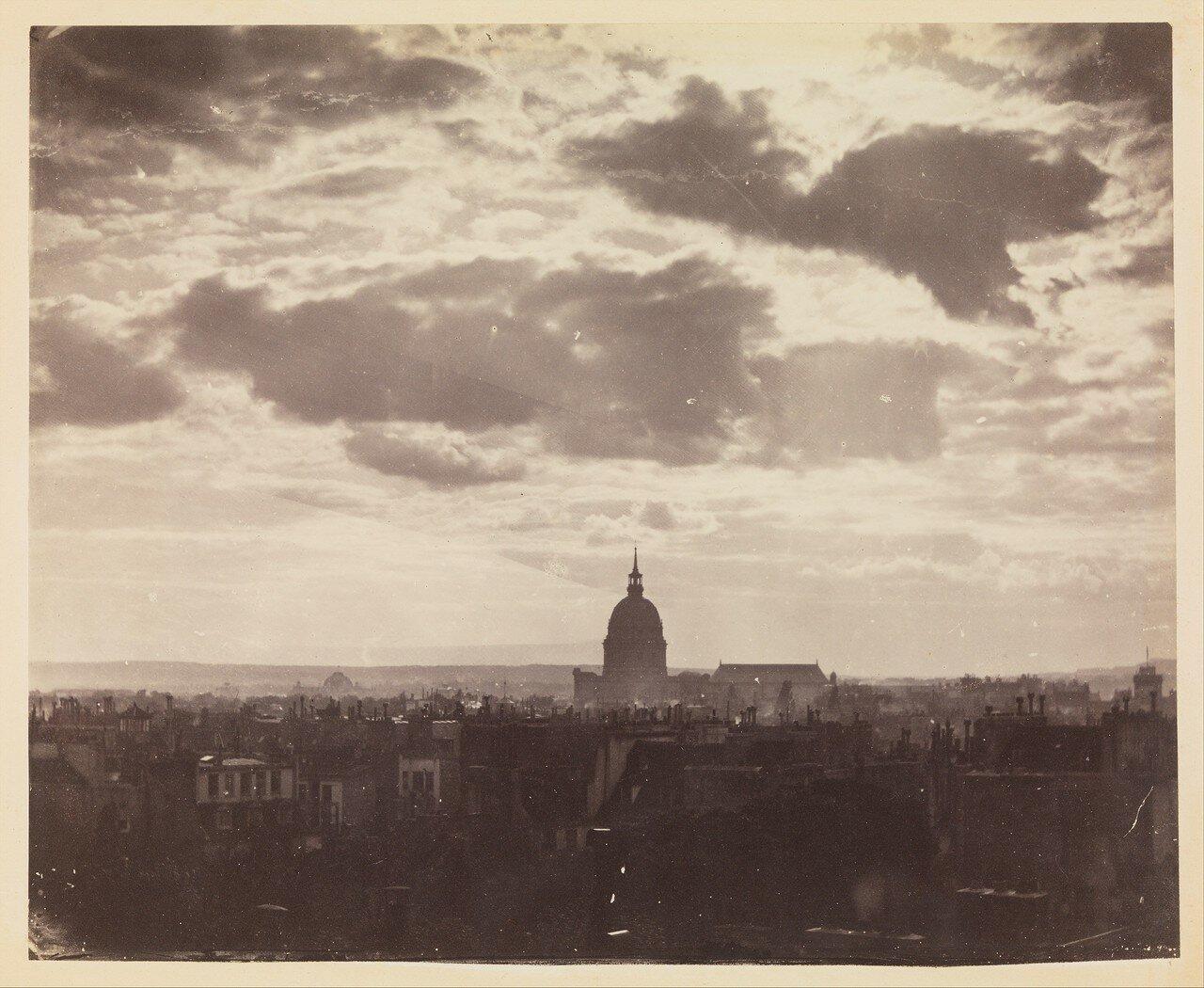 1850-е. Облака над Парижем