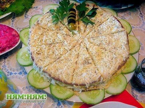 Печёночный торт_№3