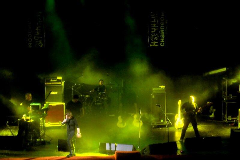 Ночные снайперы выступили в Саратове, 17 февраля 2011 года.