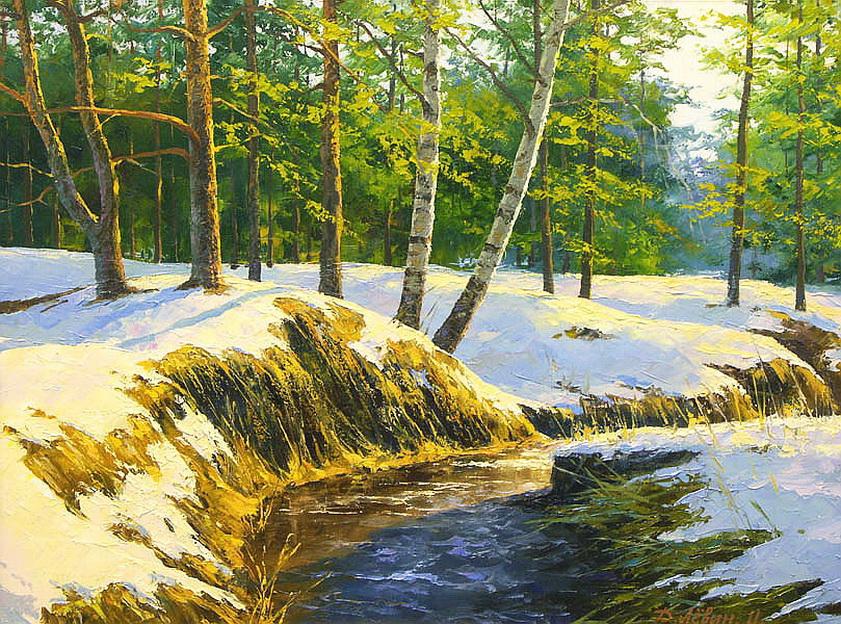 85. Художник Дмитрий Лёвин родился в городе Моршанске, в Тамбовской области, в 1955 году.