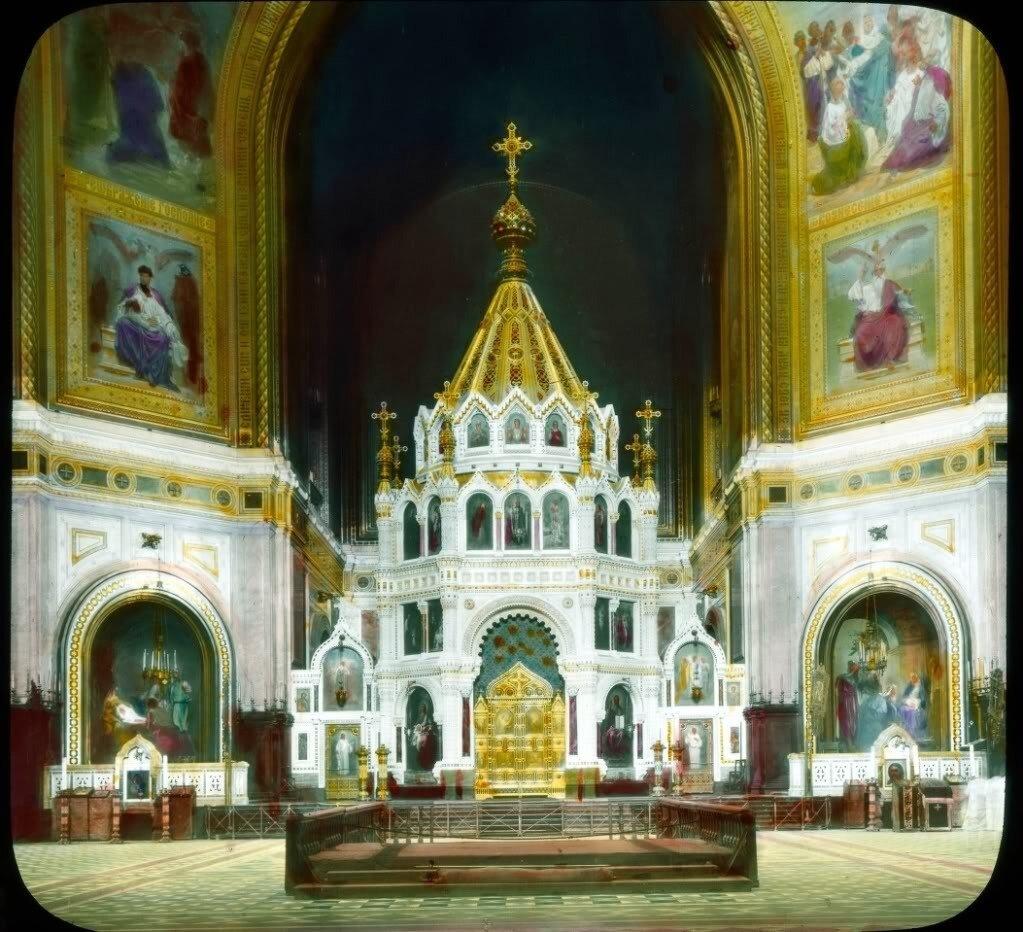 religion_- Храм Христа Спасителя внутри