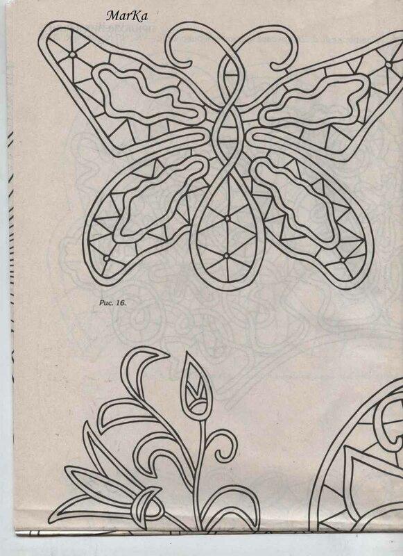 РУМЫНСКОЕ (ШНУРКОВОЕ) КРУЖЕВО... схемы вязания шнуров, элементы и их.