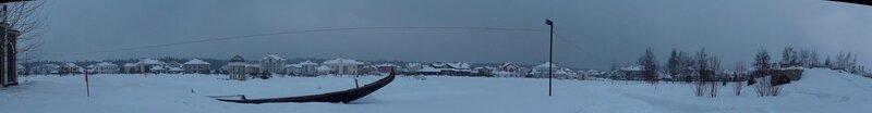 Панорама озера в Гринфилде