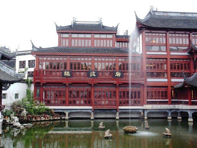 Парк Юйюань в Шанхае