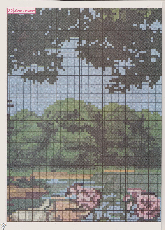 вышивка крестом бесплатные схемы натюрморт: