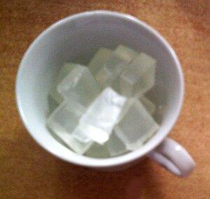 Кофейное мыло из прозрачной основы