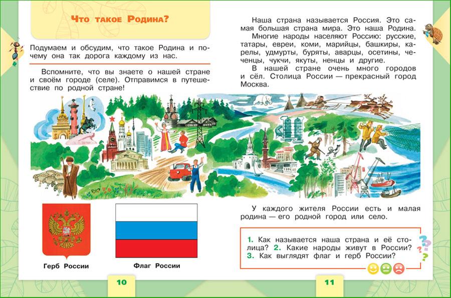 плешаков окружающий мир 1 класс учебник