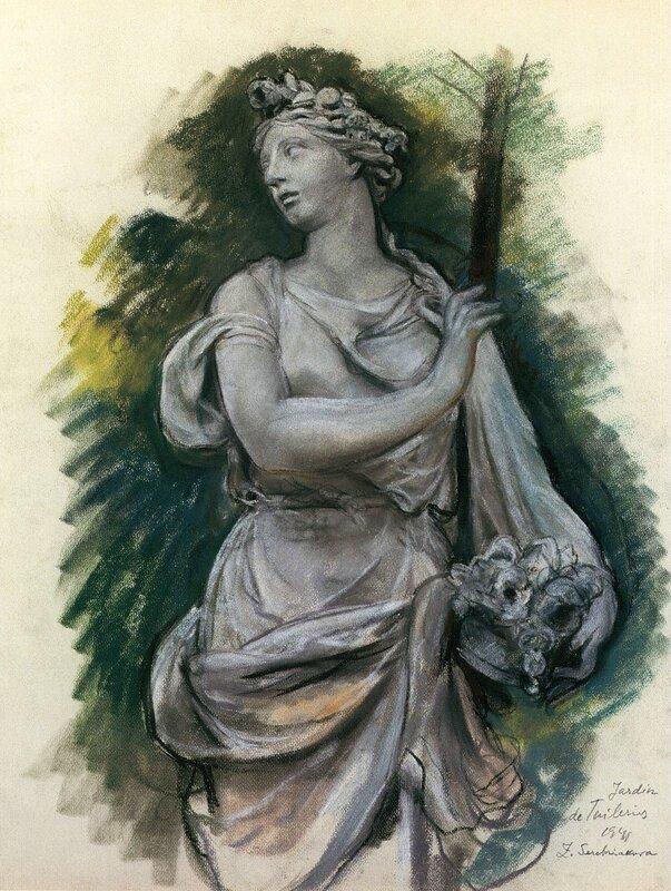 Скульптура в Тюильри
